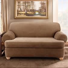 3 Piece T Cushion Sofa Slipcover by 28 Slipcovers T Cushion Sofa Sure Fit Soft Suede T Cushion Sofa