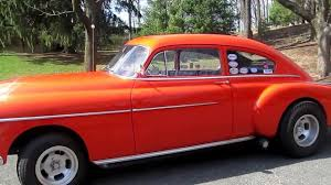 1950 oldsmobile 2 door jetback model 88 youtube