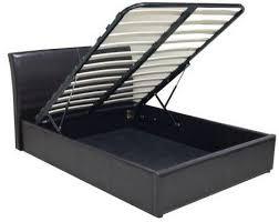ottoman bed single black faux leather ottoman bed single texan ottoman bed in black
