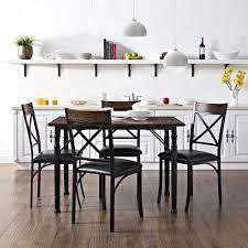 dorel living mainstays 5 piece dining set espresso black