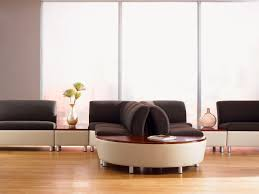modular upholstered bench contemporary leather for public