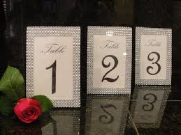 silver wedding table numbers silver rhinestone style table number frames reception decoration