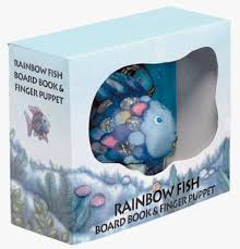 rainbow fish board book finger puppet 1 rainbow fish