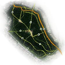 hurst map croham hurst paths of the hurst