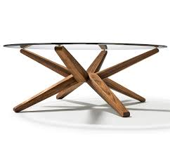 glass coffee table wooden legs elegant round glass coffee table wood base with interior home ideas