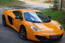 orange mclaren 12c mclaren