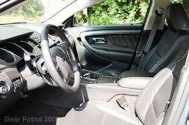 2010 Ford Taurus Interior 2010 Ford Taurus Sel U2022 Gear Patrol