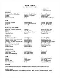 Cosmetologist Resume Samples by Dance Resume Examples Cosmetology Resume Skills Example Http