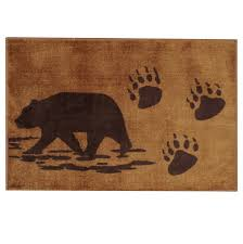 amazon com bear bath rug home u0026 kitchen