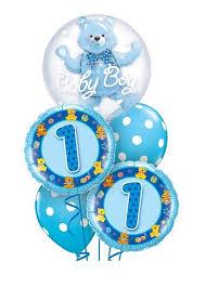 1st birthday balloon delivery 1st birthday funky balloons gold coast qld helium balloon