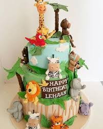 jungle theme cake 6 jungle themed cakes for baby boys photo jungle theme baby