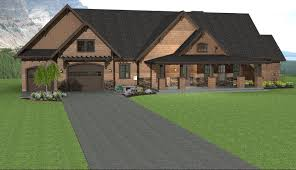 small ranch style home plans rectangle ranch home designs with gray brick walls and large white