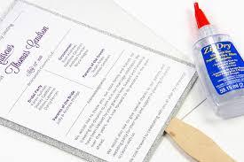 How To Make Wedding Fan Programs Make Your Own Glitter Layered Wedding Program Fan