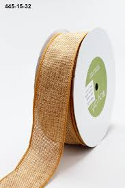 burlap ribbon 1 5 inch faux burlap wired ribbon may arts wholesale ribbon