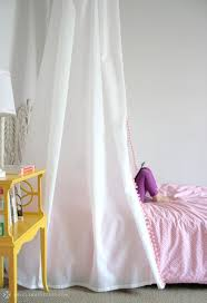 White Bed Canopy D I Y Bed Tent Canopy Erika Brechtel