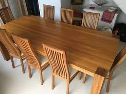 Oak Chairs Dining Room Chair Entrancing Glass Dining Table And 8 Chairs Gallery Oak