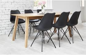 black 6 seater dining set home furniture out u0026 out