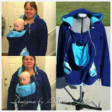 hoodie for mom and baby baby wearing coat breastfeeding