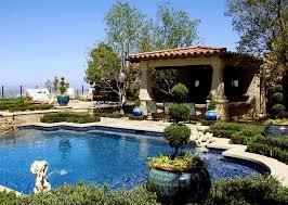 Mediterranean Backyard Landscaping Landscaping Network - Backyard landscape designs with pool