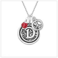initial necklaces for wax seal initial necklace in sterling silver initial necklace