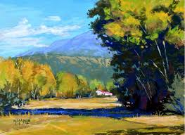 landscape painting artists mike mahon painting the colors light and feel of the southwest