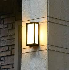 battery powered outdoor wall lights exterior garage lights dimmable led wall sconce light mount battery