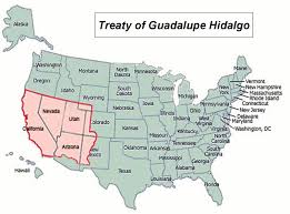Texas Capitol Map 8 Treaty Of Guadalupe Hidalgo Westward Expansion Transcont