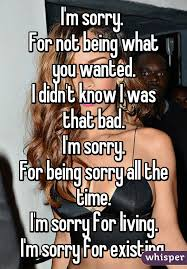 Memes About Being Sorry - m sorry for not being what you wanted i didn t know i was that bad