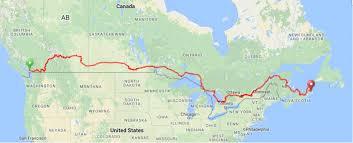 Michigan Adventure Map by Adventure Across Canada Bikepacker