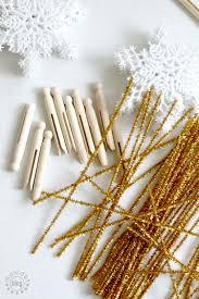 clothespin angel ornament diy momdot