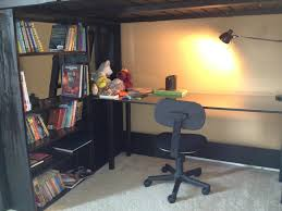 full size loft bed with desk home painting ideas