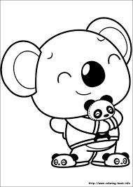 hao kai lan coloring picture