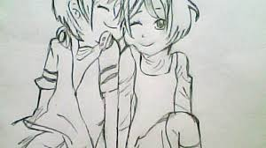 couple pencil sketches cute love drawings pencil art hd romantic