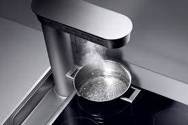 hotte de cuisine escamotable aspirante escamotable gaggenau
