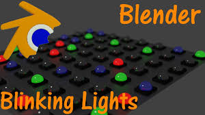 blender tutorial blinking lights cycles