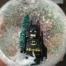 glass batman ornament by lolajanedesignsnc on etsy