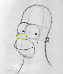homer how to draw 04 drawing factory