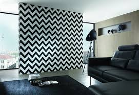 chevron wallpaper in black and white design by bd wall u2013 burke decor
