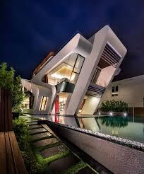 futuristic contemporary house by mercurio design lab located in