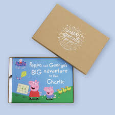personalised peppa pig u0027big adventure u0027 book by penwizard