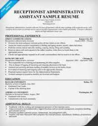 Best Sample Resume by Receptionist Cover Letter For Resume Hotel Receptionist Sample