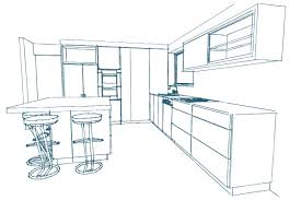Kitchen Design Sketch Choosing Colours And Finishes For Your New Kitchen Bella Vie