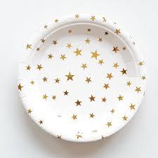 wedding party plates 10pcs lot gold theme paper plates birthday wedding party