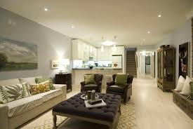 modern living room with kitchen interior design caruba info