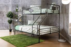Xavier Industrial Piping Metal XL Twin Over Queen Bunk Bed - Queen over queen bunk bed