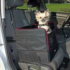 siege de transport siège de voiture noir et lit de voyage petit chien pour le