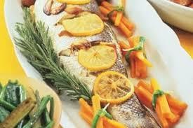 cuisine truite recette de truite de mer rôtie la recette facile