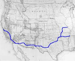 Wyoming how long does it take for mail to travel images Overland mail to california in the 1850s who we are usps jpg