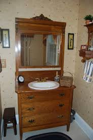 old timey water closet would go well with the dresser vanity old