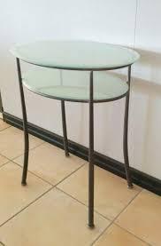 comodini in cristallo tavolino comodino ferro battuto e vetro a vicenza kijiji